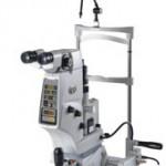 NIDEK社YG-1800 YAG laser 閉塞隅角緑内障や後発白内障で使われます